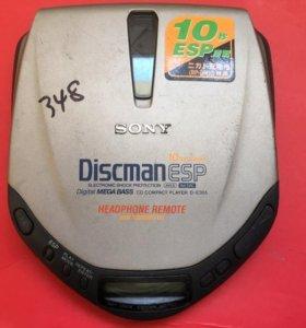 CD плеер Sony D-E305 Discman ESP