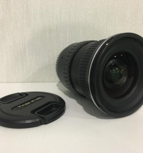 Tokina 11-16 f2.8 AT-X pro для canon