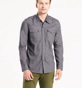 Рубашка мужская новая Levis джинсовая