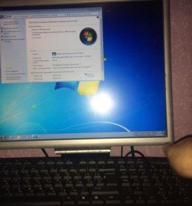 Продам Компьютерный системный блок + монитор
