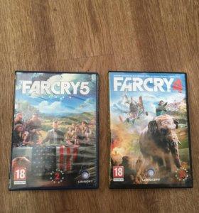 Far-Cry 5 и 4