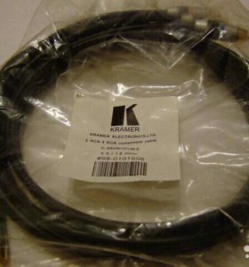 Kramer компонентный видео-кабель 3RCA-3RCA