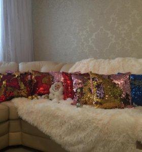 интерьерные подушки (наволочка+подушка)