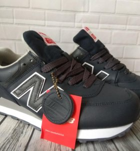 Мужские кожаные кроссовки New Balance 574