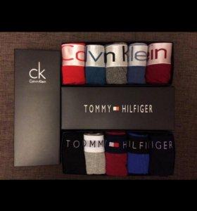 Трусы Tommy Hilfiger, Calvin Klein