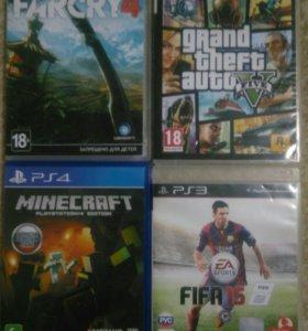 Игры для PS 3 , PS 4 , X BOX 360 !!
