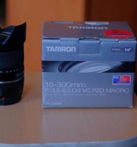 Tamron 16-300mm f/3.5-6.3 Di II VC PZD Canon EF-S