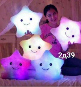 Светящиеся подушка Новая