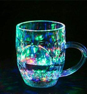 Светящиеся стакан новый