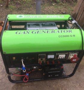 Газовый генератор ( 3 фазы, 380/220)