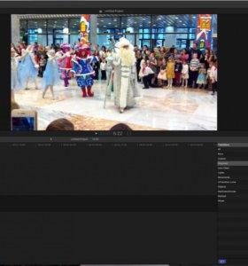 видеомонтаж вашего видео