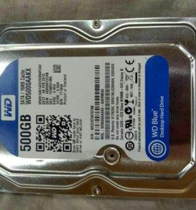 Жёсткий диск WD blue 500gb