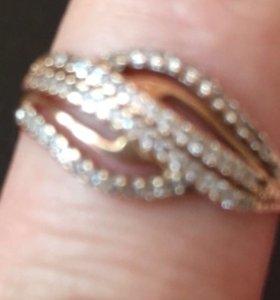 Кольцо золотое 585проба