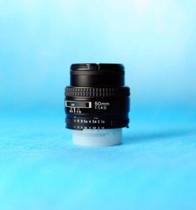 Nikon 50mm f/1.4D Новый!
