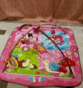 Детский музыкальный развивающий коврик.