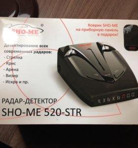 РАДАР-ДЕТЕКТОР SHO-ME 520-STR (АНТИРАДАР)