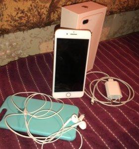 Iphone 8 plus 64gb gold (Ростест)