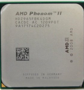 AMD Phenom 2x4 965 Black Edition