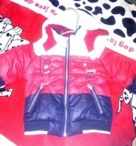 Куртка на 9-12 месяцев