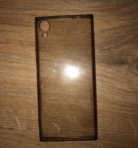 Прозрачный чехол на Sony Xperia xa1
