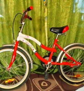 Велосипед Зебра
