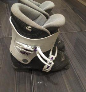 Лыжные ботинки alpina детские