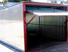 Металлические гаражи-пеналы