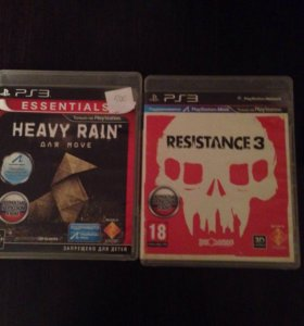 Игры ps3 resistance3, heavy rain