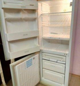 холодильник 2 камерный, Stinol, 168см No frost