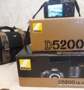 Никон D5200 18-105 VR kit