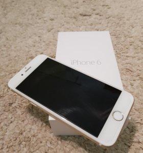 iPhone 6 + доп. стекло + ориг. чехол
