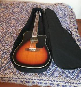 Электроакустическая 12-ти струнная гитара