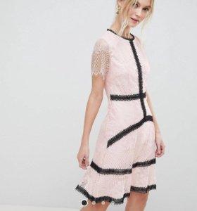 Платье с Asos, розовое мини