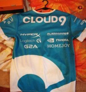 Футболки Virtus Pro и Cloud9