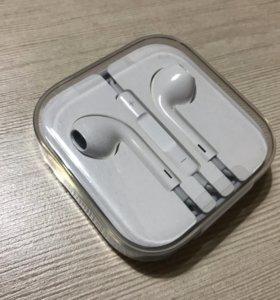 Наушники EarPods новые оригинальные