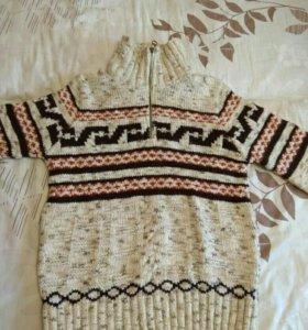 Модный Свитер вязаный турецкий