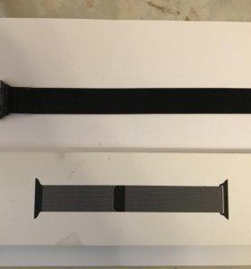 Миланский сетчатый браслет Apple Watch 44 mm