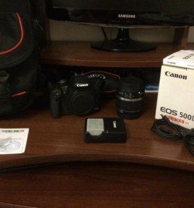 Срочно продаю! Canon EOS 500D Kit