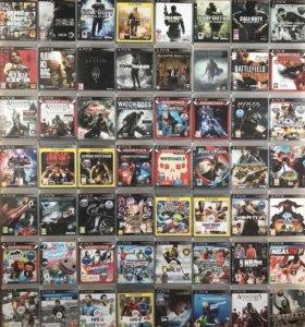 Игры PS3-GTA5,Tomb Raider,NHL15,13,Fifa18,17,14
