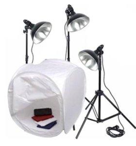 Комплект постоянного света Raylab + 3 лампы
