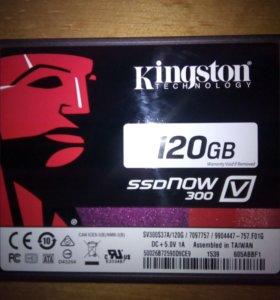 SSD накопитель Kingston 120 Gb