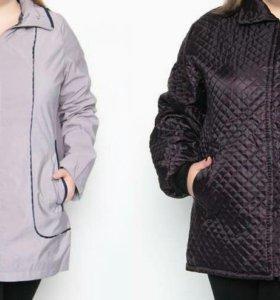 Куртки новые. 58-60 р.