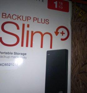 Внешний жесткий диск Seagate Backup Plus Slim 1Tb