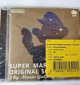 Audio CD Super Mario Galaxy Soundtrack