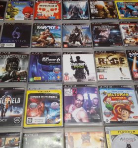 Диски Sony PlayStation3. PS3.