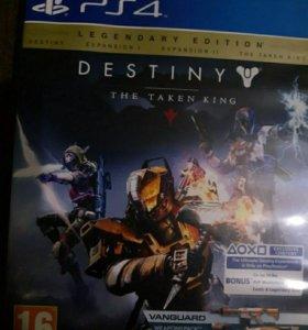 Срочно!!! Продам Destiny 1 The Taken King (Ps4)