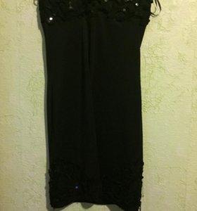 Платье комплект с юбкой