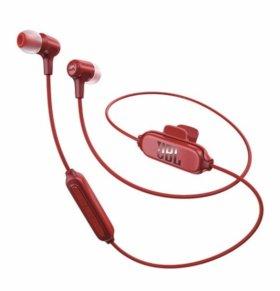 Беспроводные наушники с микрофоном JBL E25BT Red