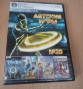 Детские игры диск PC DVD