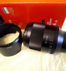 Sony FE 50mm F1.4 Zeiss SEL50F14Z